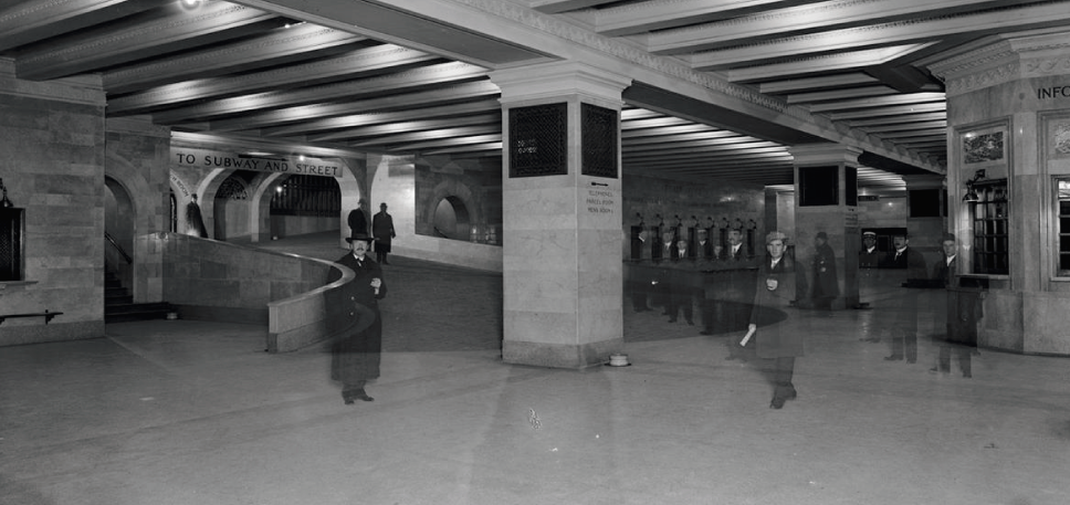 Suburban concourse with ramp,Grand Central Terminal (1912)